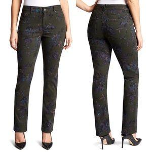 Bandolino | Women's Mandie Floral Straight Jeans